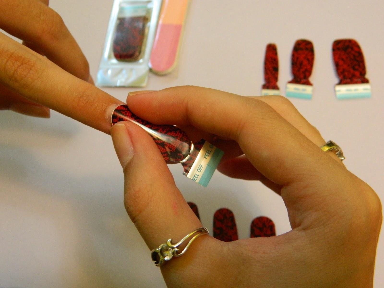 Makeup and Art Freak: Sally Hansen Real Nail Polish Strips - How To ...