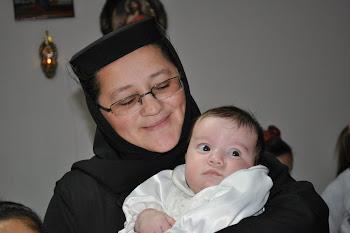 Maica Serafima cu Maria
