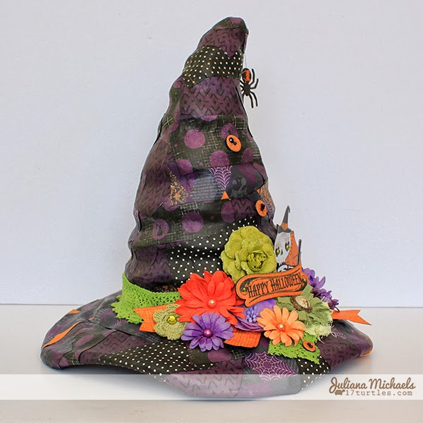 Halloween Witches Hat by Juliana Michaels Side View