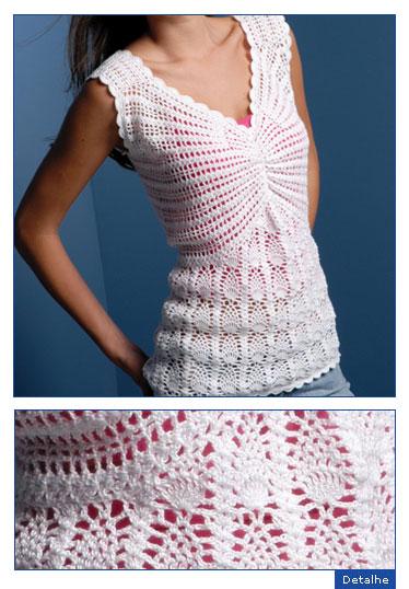 Modelos de blusas en crochet