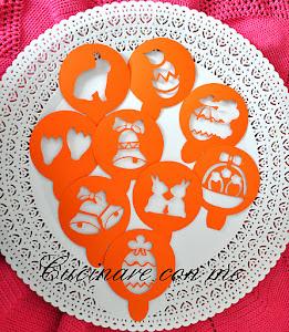 Stencil per biscotti pasquali