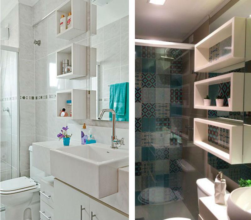 Modatrade  Nichos no banheiro -> Nicho Para Banheiro Telha Norte