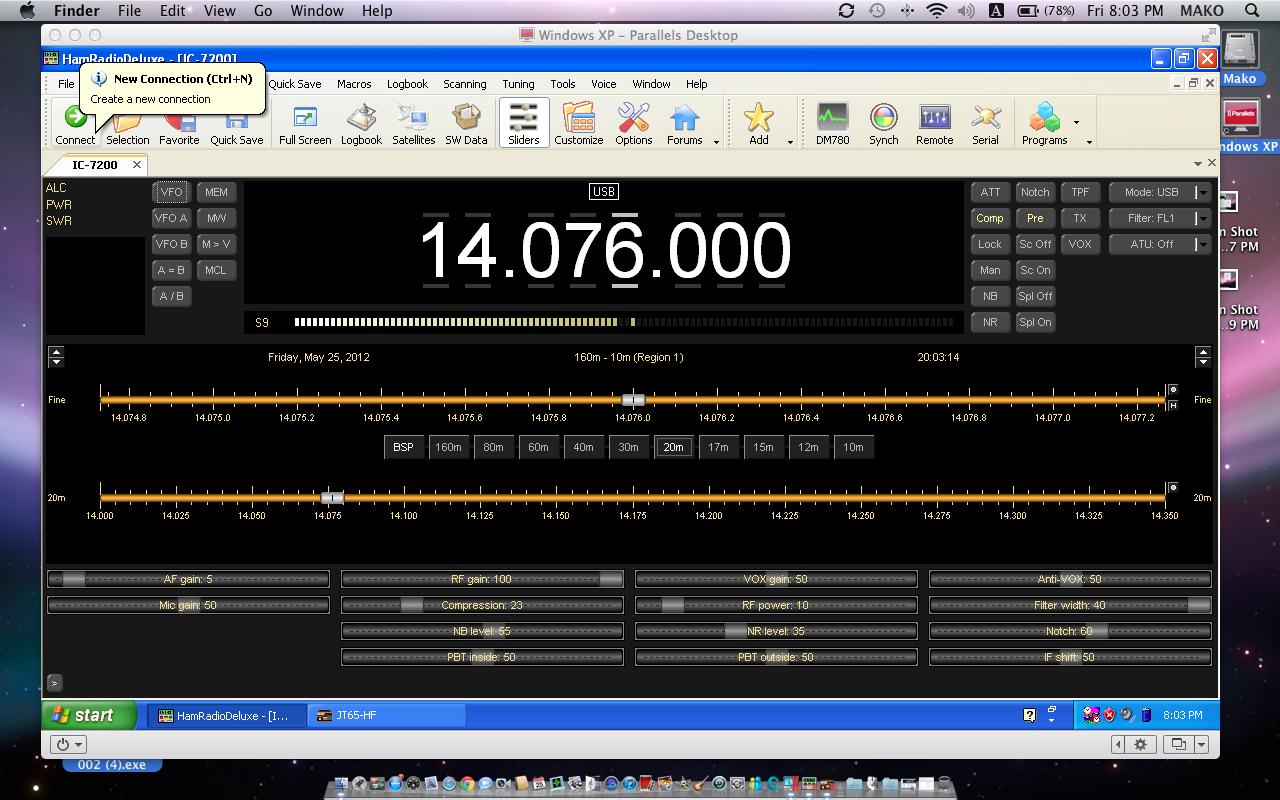 Free amateur radio software
