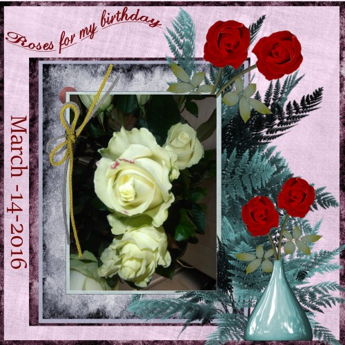 March -2016 – Roses for me
