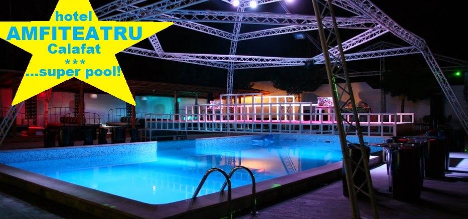 hotel calafat cu piscina -amfiteatru
