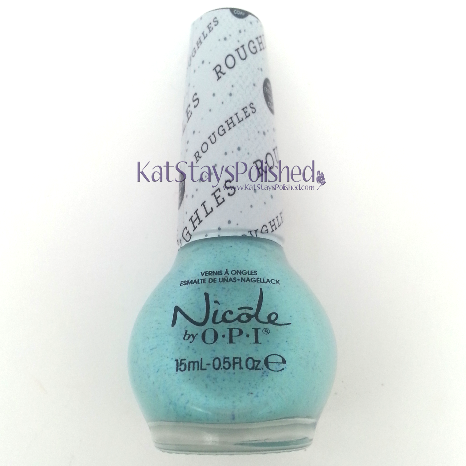 Ipsy Glam Bag: March 2014 - Nicole by OPI Roughles - On What Grounds | Kat Stays Polished