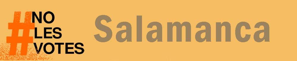 #NoLesVotesSalamanca