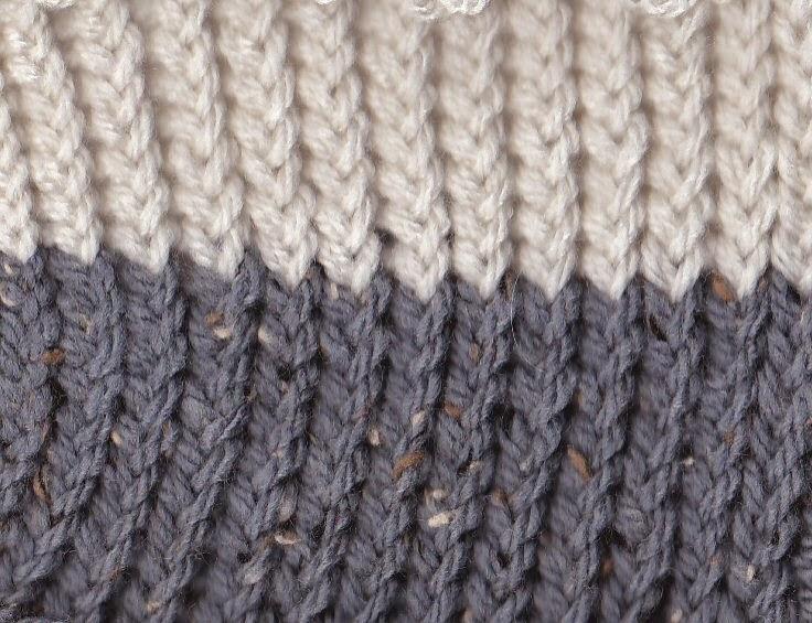 Halve steek (dun breigaren) op breiring of breiraam breien: breiring.blogspot.com/p/overzicht-breisteken.html