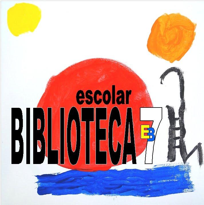 Logótipo da Biblioteca da EB VILA REAL Nº7