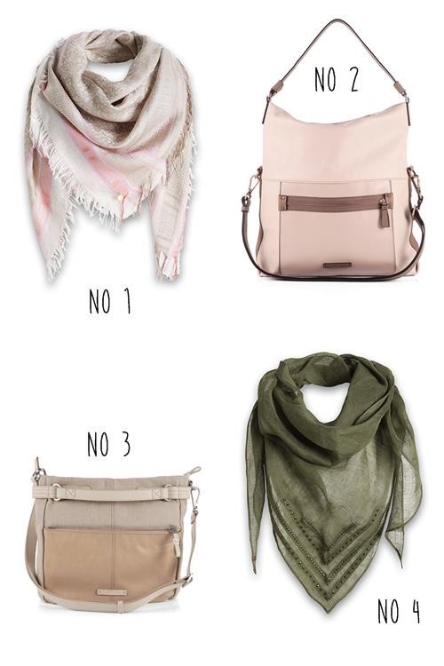 Taschen und Tücher von ESPRIT