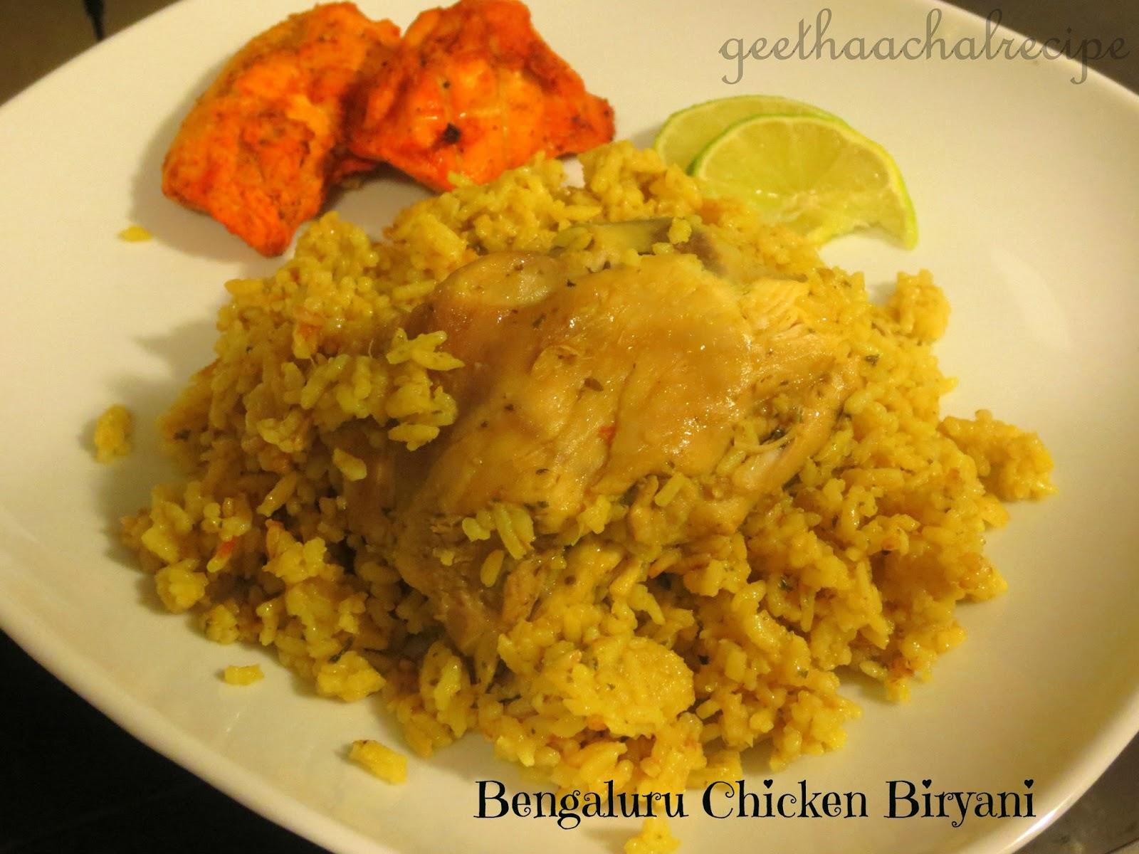 Bengaluru Biryani