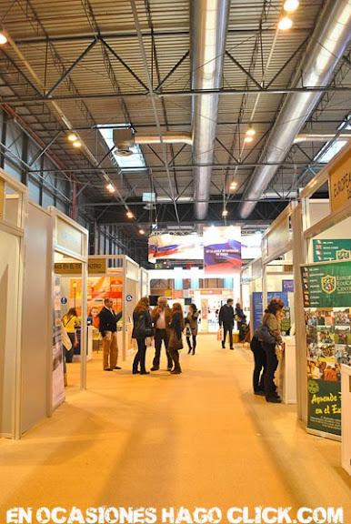 Feria Aula 2011 salón internacional del estudiante Ifema Madrid