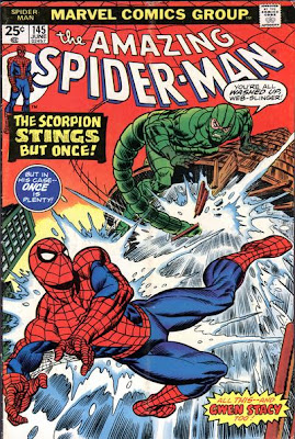 Amazing Spider-Man #145, the Scorpion returns