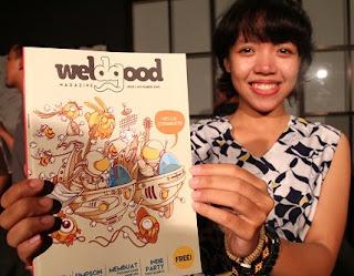 Tampung Kreativitas Anak Muda, Beberapa Komunitas Di Kota Pekalongan Launching Weldgood Magazine