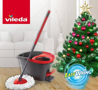 Vileda Easy Wring Spin Mop Giveaway