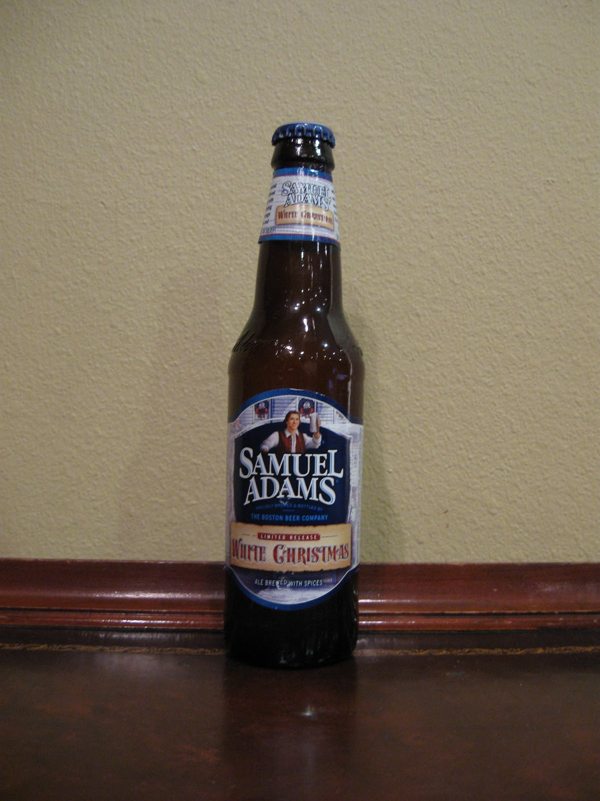 doing beer justice - White Christmas Sam Adams