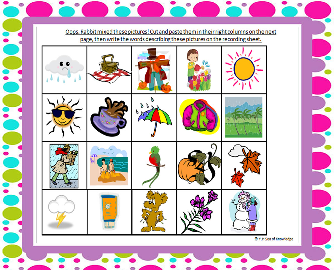Clipart Summer Season Pictures