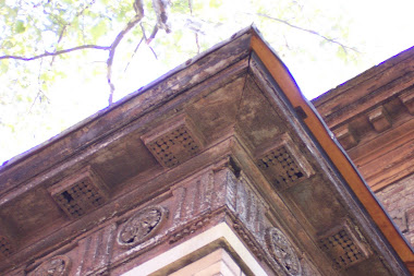 Greek Cornice at front porch