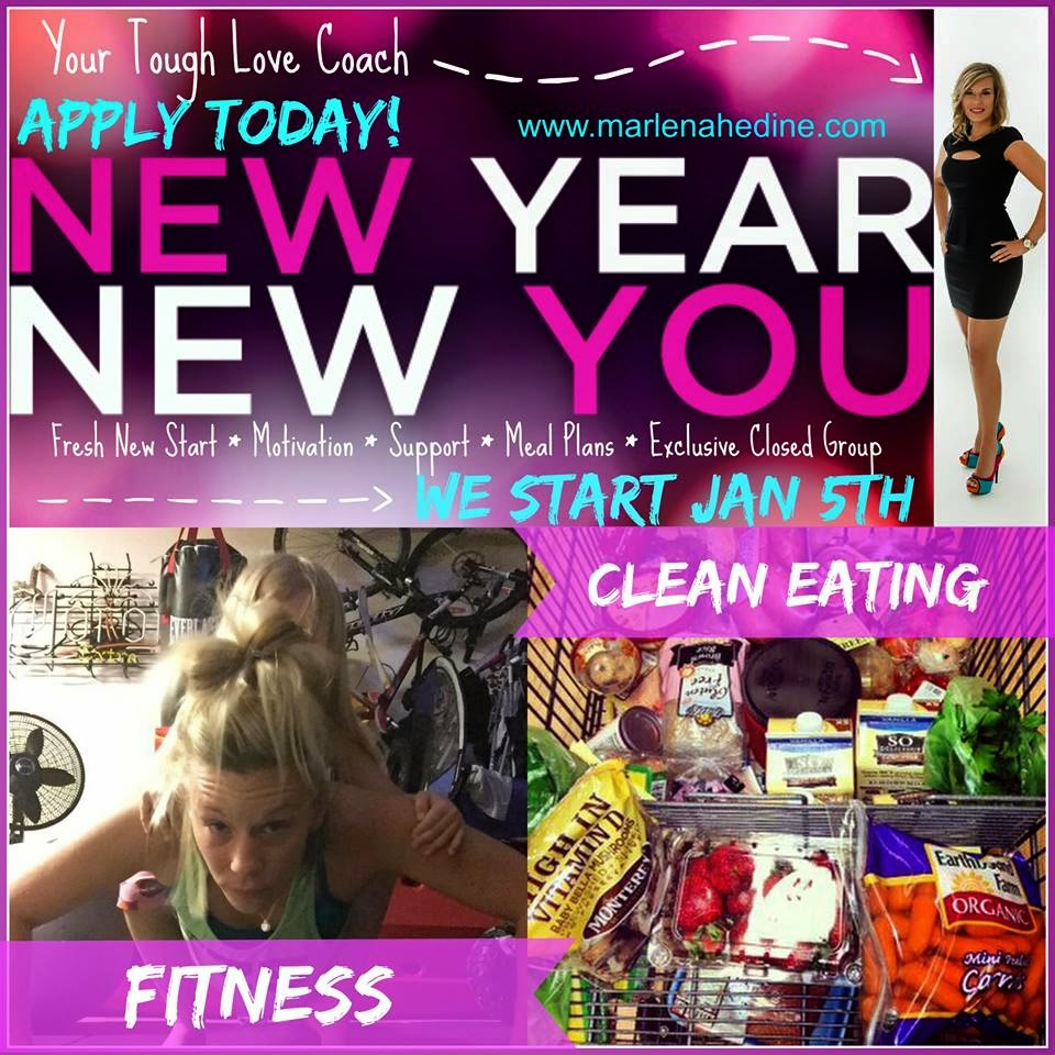 New Year, New You Challenge Group, Support, Fitness, Clean Eating