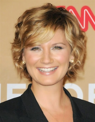 New short curly hairstyles for women oval face 2015