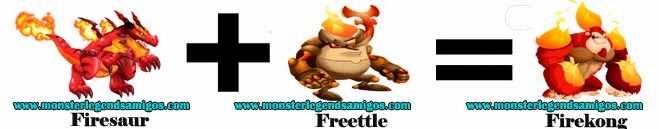 como obtener el firekong en monster legends formula 2