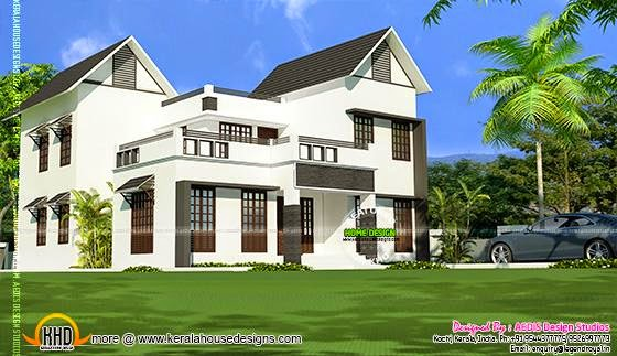 House elevation 2