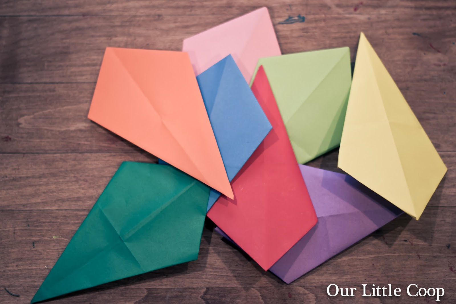 How to make Origami Window Stars, origami project, kids, paper