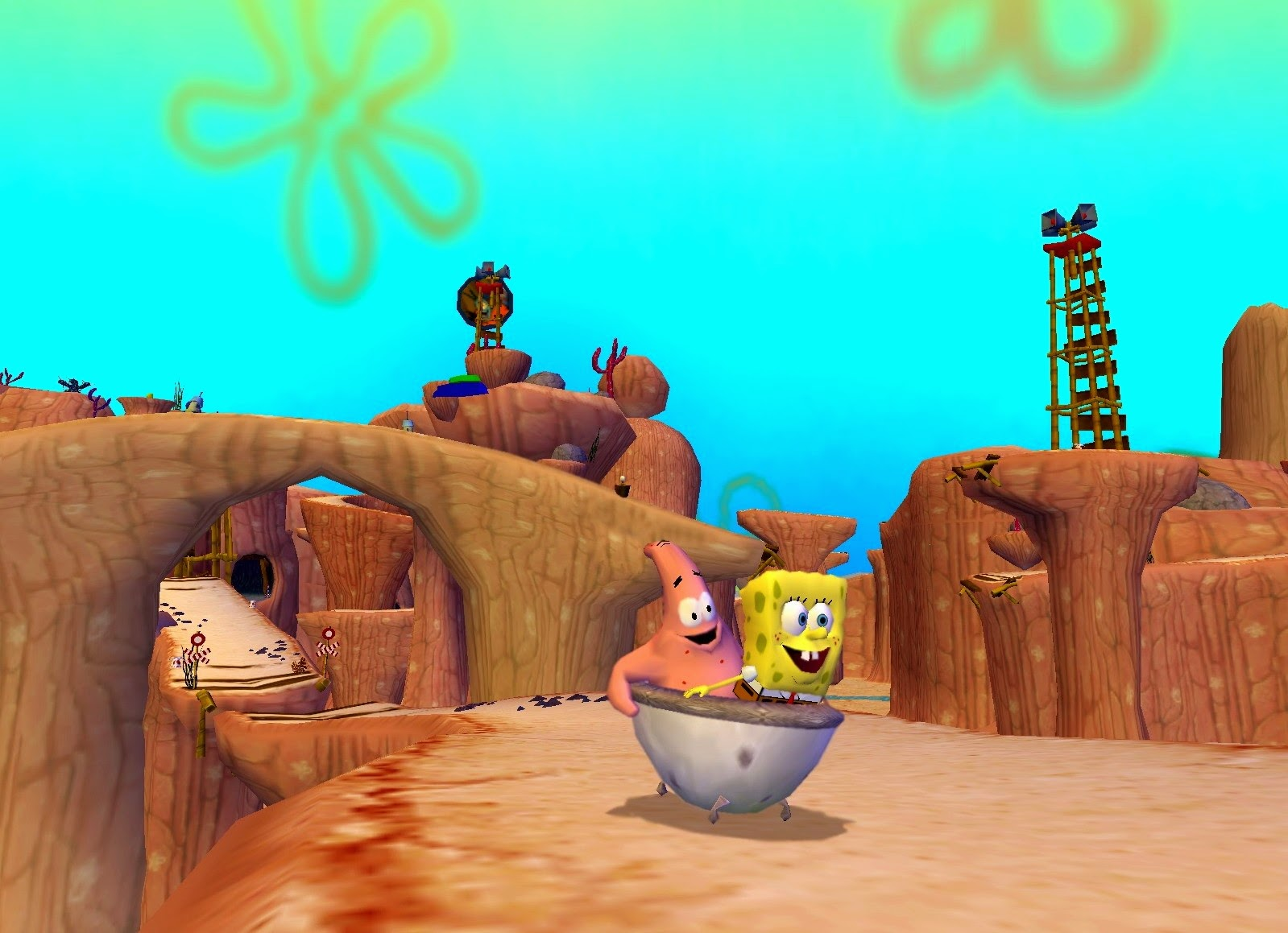 the spongebob squarepants movie game free download full