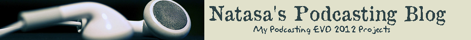 Natasa's Podcasting Blog