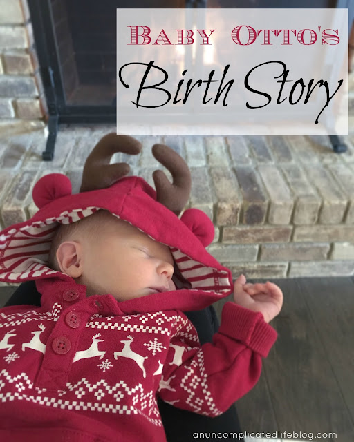A story of one little baby and his birth
