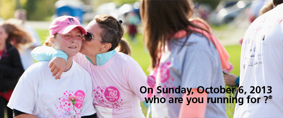 CIBC Run for the Cure - Sunday October 6, 2013
