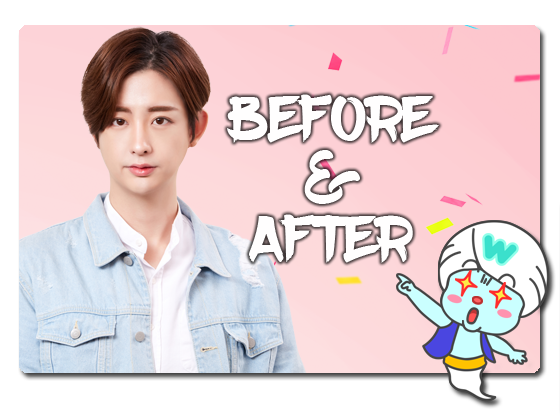 WONJIN BEFORE&AFTER