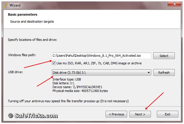 windows 7 usb tool bootsect failed