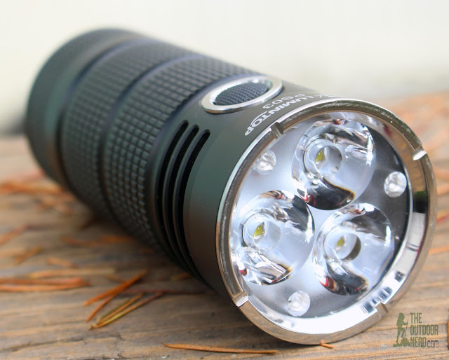 Lumintop PS03 4x18650 Flashlight - Product View 2