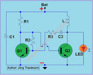 Led phototheraphy circuit