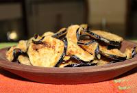 Chips de Berinjela (vegana)