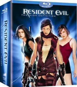 """Resident Evil Pentilogy 720p BDRip XviD AC3-ViSiON"