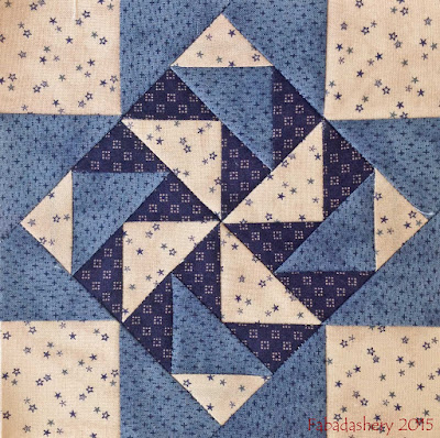 Miniature Quilt Block- June 2015
