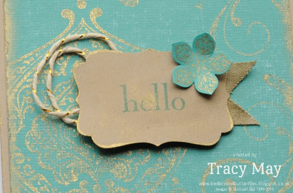 Stampin Up Vintage Beautifully Baroque Tracy May Card making ideas