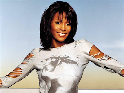 Fashion Model Whitney Houston Wallpaper