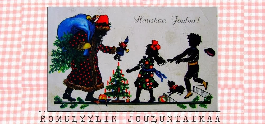 Romulyylin Jouluntaikaa.. /  Romulyylis Christmas blog