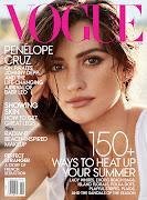 Penelope Cruz in Vogue