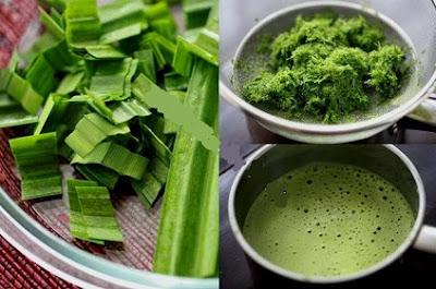 ramuan daun pandan