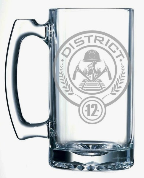 Hunger Games Glass