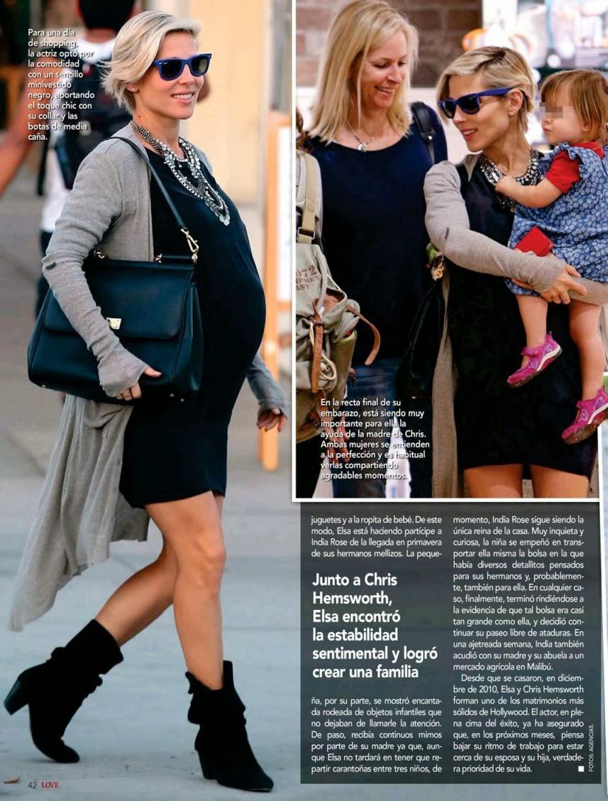 Elsa Pataky HQ Pictures Love Spain Magazine Photoshoot February 2014