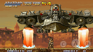 Screenshot 1 Metal Slug X PS 1 ISO For PC