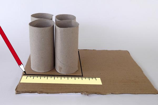 πώς να φτιάξω μολυβοθήκη από ρολά χαρτί υγείας,