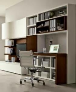 Decorar una oficina en la sala colores en casa for Sala de estar oficina
