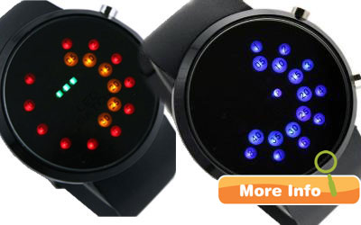 LED Watch Oberon Rubber