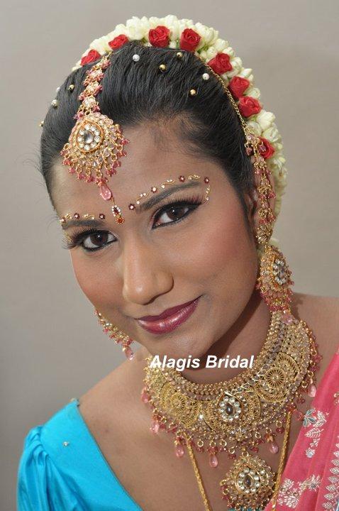 Alagis Bridal: Wedding Makeup for Shalini @ Shah alam